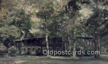 MTL001308 - Johnson's Rustic Resort, Houghton Lake, MI, USA Motel Hotel Postcard Post Card Old Vintage Antique