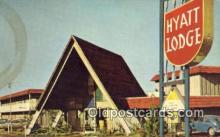 MTL001316 - Hyatt Lodge, Albuquerque, NM, USA Motel Hotel Postcard Post Card Old Vintage Antique