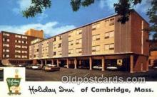 MTL001330 - Holiday Inn, Cambridge, MA, USA Motel Hotel Postcard Post Card Old Vintage Antique