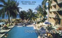 MTL001345 - Dolphin Hotel, Nassau, Bahamas Motel Hotel Postcard Post Card Old Vintage Antique
