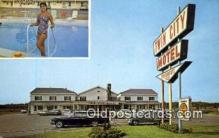 MTL001363 - Twin City Motel, Brewer, ME, USA Motel Hotel Postcard Post Card Old Vintage Antique