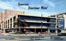 MTL001373 - Tamanaca Downtown Motel, New Orleans, LA, USA Motel Hotel Postcard Post Card Old Vintage Antique