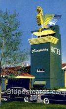MTL001394 - Thunderbird Hotel, Las Vegas, NV, USA Motel Hotel Postcard Post Card Old Vintage Antique