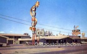 MTL001408 - Encor Motel, Farmington, NM, USA Motel Hotel Postcard Post Card Old Vintage Antique