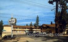 MTL001414 - Imperial Lodge, South Lake Tahoe, CA, USA Motel Hotel Postcard Post Card Old Vintage Antique