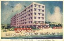MTL001436 - Poinciana Hotel, Miami Beach, FL, USA Motel Hotel Postcard Post Card Old Vintage Antique