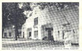 MTL001444 - Park Plaza Motel, St. Louis, Mo, USA Motel Hotel Postcard Post Card Old Vintage Antique