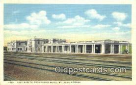 MTL001446 - Fred Harvey Hotel, Williams, AZ, USA Motel Hotel Postcard Post Card Old Vintage Antique