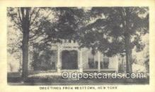 MTL001448 - Corinel Inn, Westtown, NY, USA Motel Hotel Postcard Post Card Old Vintage Antique