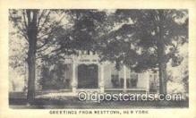 MTL001449 - Corinel Inn, Westtown, NY, USA Motel Hotel Postcard Post Card Old Vintage Antique