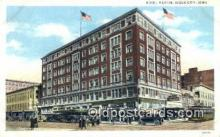 MTL001456 - Hotel Martin, Sioux City, Iowa, USA Motel Hotel Postcard Post Card Old Vintage Antique