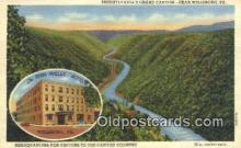 MTL001459 - Penn Wells Hotel, Wellsboro, PA, USA Motel Hotel Postcard Post Card Old Vintage Antique