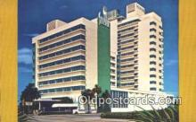 MTL001467 - The Shelborne, Miami Beach, FL, USA Motel Hotel Postcard Post Card Old Vintage Antique