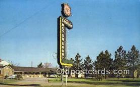 MTL001468 - Ruth's Camellia Motor Court, Hawkinsville, GA, USA Motel Hotel Postcard Post Card Old Vintage Antique