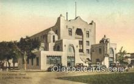 MTL001479 - La Caverna Hotel, Carlsbad, NM, USA Motel Hotel Postcard Post Card Old Vintage Antique