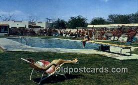 MTL001488 - Del Camino Motor Hotel, El Paso, TX Motel Hotel Postcard Post Card Old Vintage Antique