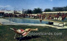 MTL001489 - Del Camino Motor Hotel, El Paso, TX Motel Hotel Postcard Post Card Old Vintage Antique