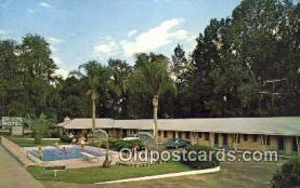 MTL001490 - Bridges Motel, Ocala, FL, USA Motel Hotel Postcard Post Card Old Vintage Antique