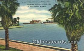 MTL001491 - Vinoy Park Hotel, St. Petersburg, FL, USA Motel Hotel Postcard Post Card Old Vintage Antique