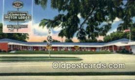MTL001492 - Cameron Motor Lodge, McRae, GA, USA Motel Hotel Postcard Post Card Old Vintage Antique