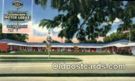 MTL001493 - Cameron Motor Lodge, McRae, GA, USA Motel Hotel Postcard Post Card Old Vintage Antique