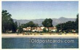MTL001495 - Santa Barbara Biltmore Hotel, Montecito, CA, USA Motel Hotel Postcard Post Card Old Vintage Antique