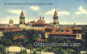 MTL001499 - Ponce de Leon Hotel, St. Augustine, FL, USA Motel Hotel Postcard Post Card Old Vintage Antique