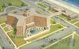 MTL001503 - Berkeley Carteret Hotel, Asbury Park, NJ, USA Motel Hotel Postcard Post Card Old Vintage Antique