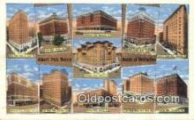 MTL001504 - Albert Pick Hotels, Columbus, OH, USA Motel Hotel Postcard Post Card Old Vintage Antique