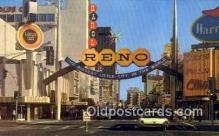 MTL001506 - Reno's Casino, USA Motel Hotel Postcard Post Card Old Vintage Antique
