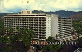 MTL001512 - Princess Kaiulani Hotel, Waikiki Beach, FL, USA Motel Hotel Postcard Post Card Old Vintage Antique