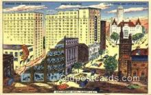 MTL001516 - Wellington Hotel, Albany, NY, USA Motel Hotel Postcard Post Card Old Vintage Antique