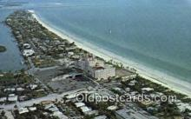 MTL001519 - Don Ce Sar Resort Hotel, Petersburg Beach, FL Motel Hotel Postcard Post Card Old Vintage Antique
