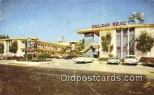 MTL001523 - Holiday Beach, Hollywood By The Sea, FL, USA Motel Hotel Postcard Post Card Old Vintage Antique