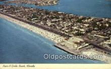 MTL001526 - Pass A Grille Beach Hotel, St. Petersburg Beach, FL, USA Motel Hotel Postcard Post Card Old Vintage Antique