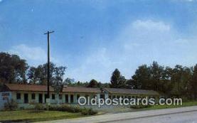 MTL001532 - Sequyah Motel, Knoxville, TN, USA Motel Hotel Postcard Post Card Old Vintage Antique