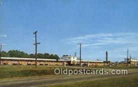 MTL001535 - Ozark Motel, Ozark, AL, USA Motel Hotel Postcard Post Card Old Vintage Antique