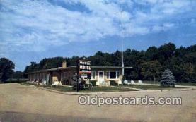 MTL001537 - Monte Motel, Montevideo, MI, USA Motel Hotel Postcard Post Card Old Vintage Antique