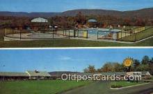 MTL001539 - Quality Motel, Breezewood, PA, USA Motel Hotel Postcard Post Card Old Vintage Antique