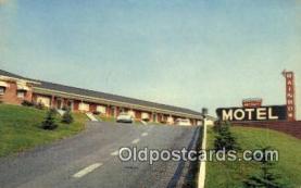 MTL001541 - Rainbow Motel, Breezewood, PA, USA Motel Hotel Postcard Post Card Old Vintage Antique