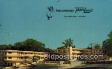 MTL001546 - Tallahassee Travelodge, Tallahassee, FL, USA Motel Hotel Postcard Post Card Old Vintage Antique