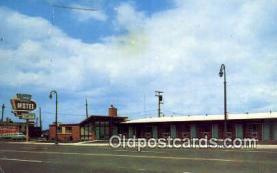 MTL001548 - Sands Motel, Detroit, MI, USA Motel Hotel Postcard Post Card Old Vintage Antique