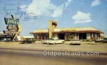 MTL001549 - Jolly's Motel Restaurant, Cave City, KY, USA Motel Hotel Postcard Post Card Old Vintage Antique