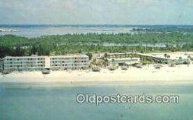 MTL001553 - Sheraton Sandcastle Motor Inn, Sarasota, FL, USA Motel Hotel Postcard Post Card Old Vintage Antique