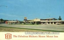 MTL001556 - Hickory House Motor Inn, Poplar Bluff, MO, USA Motel Hotel Postcard Post Card Old Vintage Antique