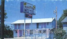 MTL001564 - Hilltop Motel, Branson, MO, USA Motel Hotel Postcard Post Card Old Vintage Antique