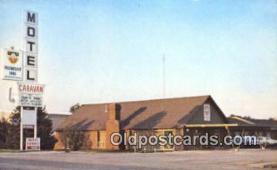 MTL001565 - Caravan Motel, Harrisonville, MO, USA Motel Hotel Postcard Post Card Old Vintage Antique
