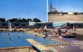 MTL001568 - Sands Motor Lodge, Joplin, USA Motel Hotel Postcard Post Card Old Vintage Antique