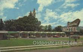 MTL001572 - Vagabond Motel, Hood River, OR, USA Motel Hotel Postcard Post Card Old Vintage Antique