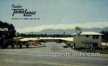 MTL001581 - Indio Travelodge, Indio, CA, USA Motel Hotel Postcard Post Card Old Vintage Antique